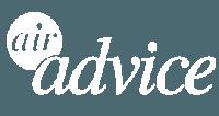 Air Advice Logo (White)